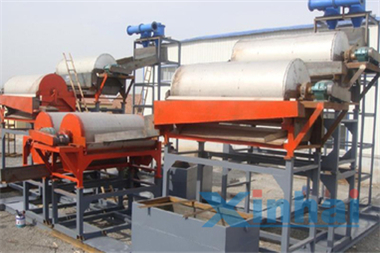 Manganese Ore Magnetic Separation Production Line