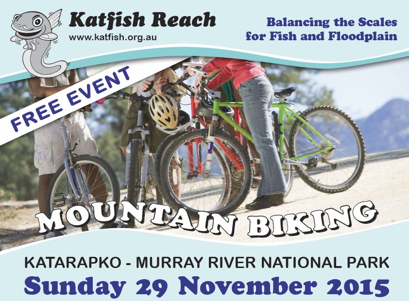 Mountain Biking - Katfish Reach 2015